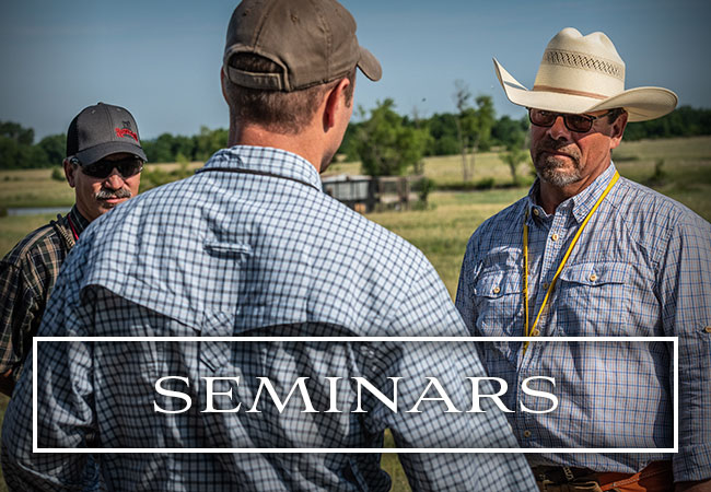 Seminars Ronnie Smith Kennels